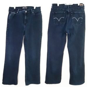 Levi's 512 Perfectly Slimming Bootcut jeans 14